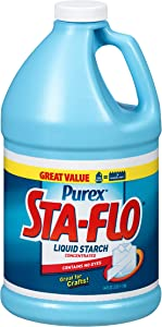 Sta-Flo DIA13101 Concentrated Liquid Starch, 64 Oz Bottle - Pack of 1