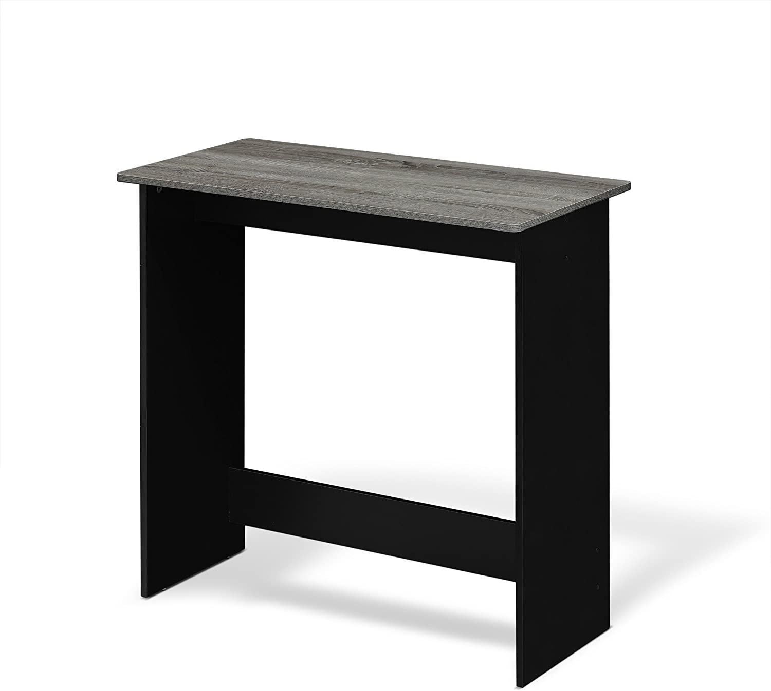 FURINNO Simplistic Study Table, French Oak Grey