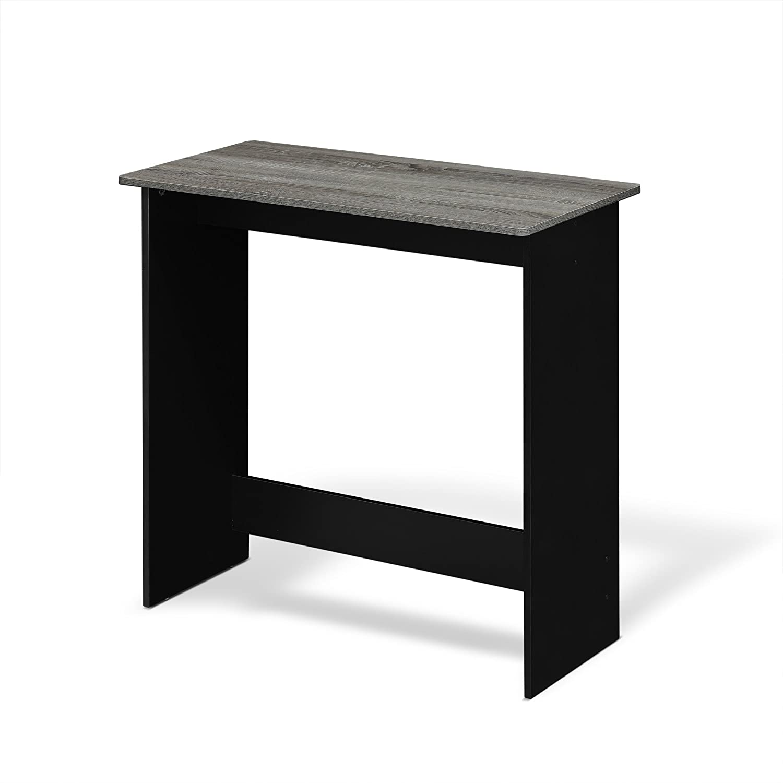 French Oak Grey Furinno 14035GYW Simplistic Study Table