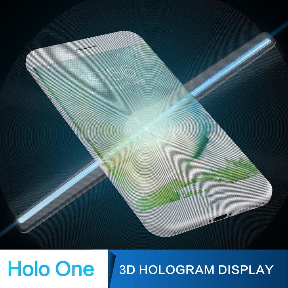 Amazon.com: Holograma Ventilador Holográfico Proyector 3D ...
