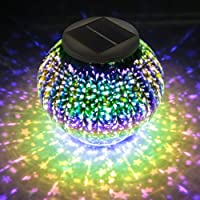 Hallomall Solar-Powered Color-Changing LED Table Light