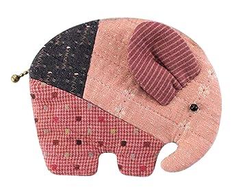 Adolescentes Niñas elefante cartera monedero para hacer fácil de coser proyecto - Kit de manualidades: Amazon.es: Hogar