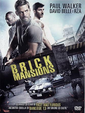Brick Mansions Dvd Italian Import