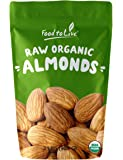 Food to Live Organic Almonds (Raw, No Shell, Unpasteurized, Kosher) (2 Pounds)