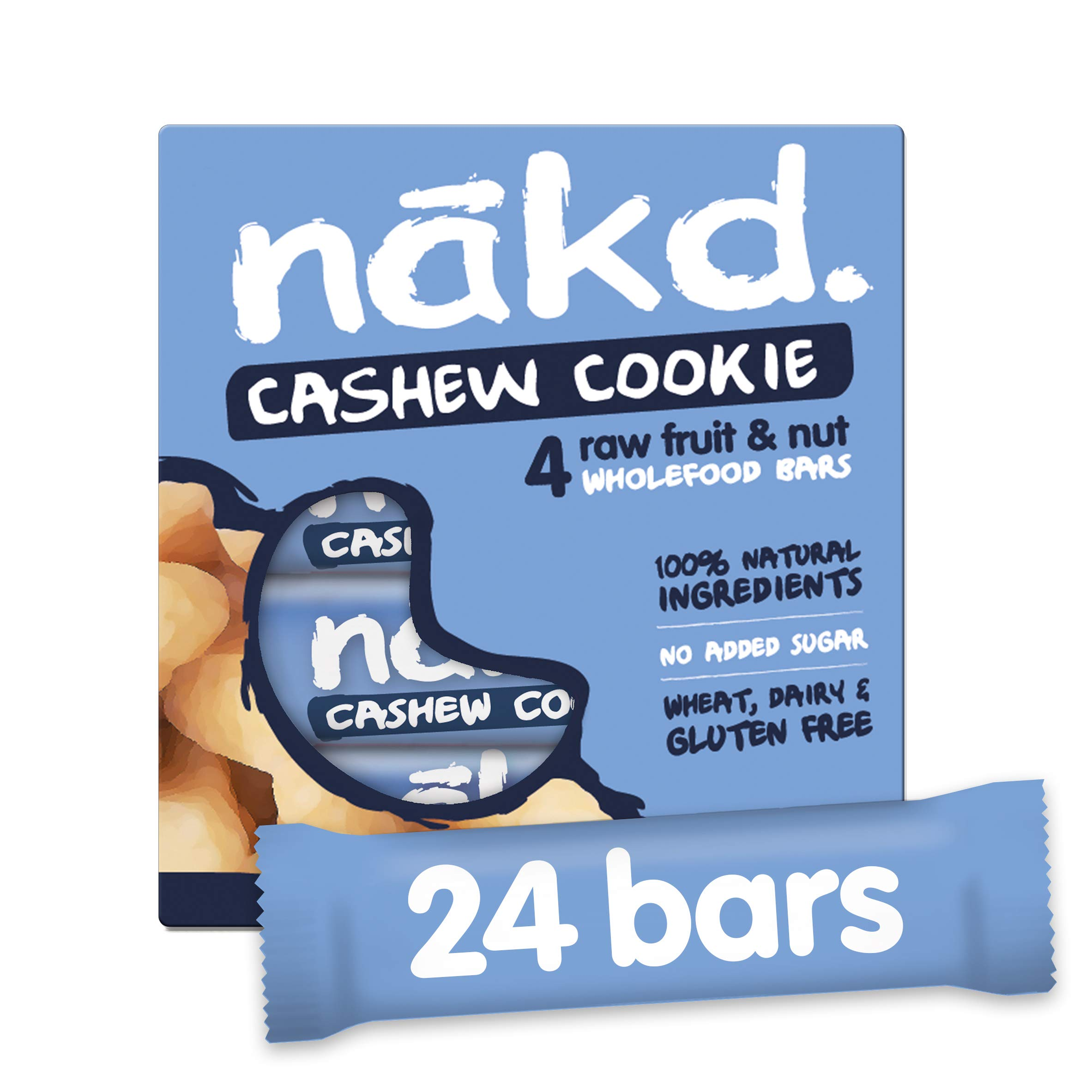 NAKD Cashew Cookie 35g bar - Multi Pack case of 24 Bars