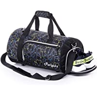 Waterproof Sports Gym Bag with Shoes Compartment, Yoga Bag