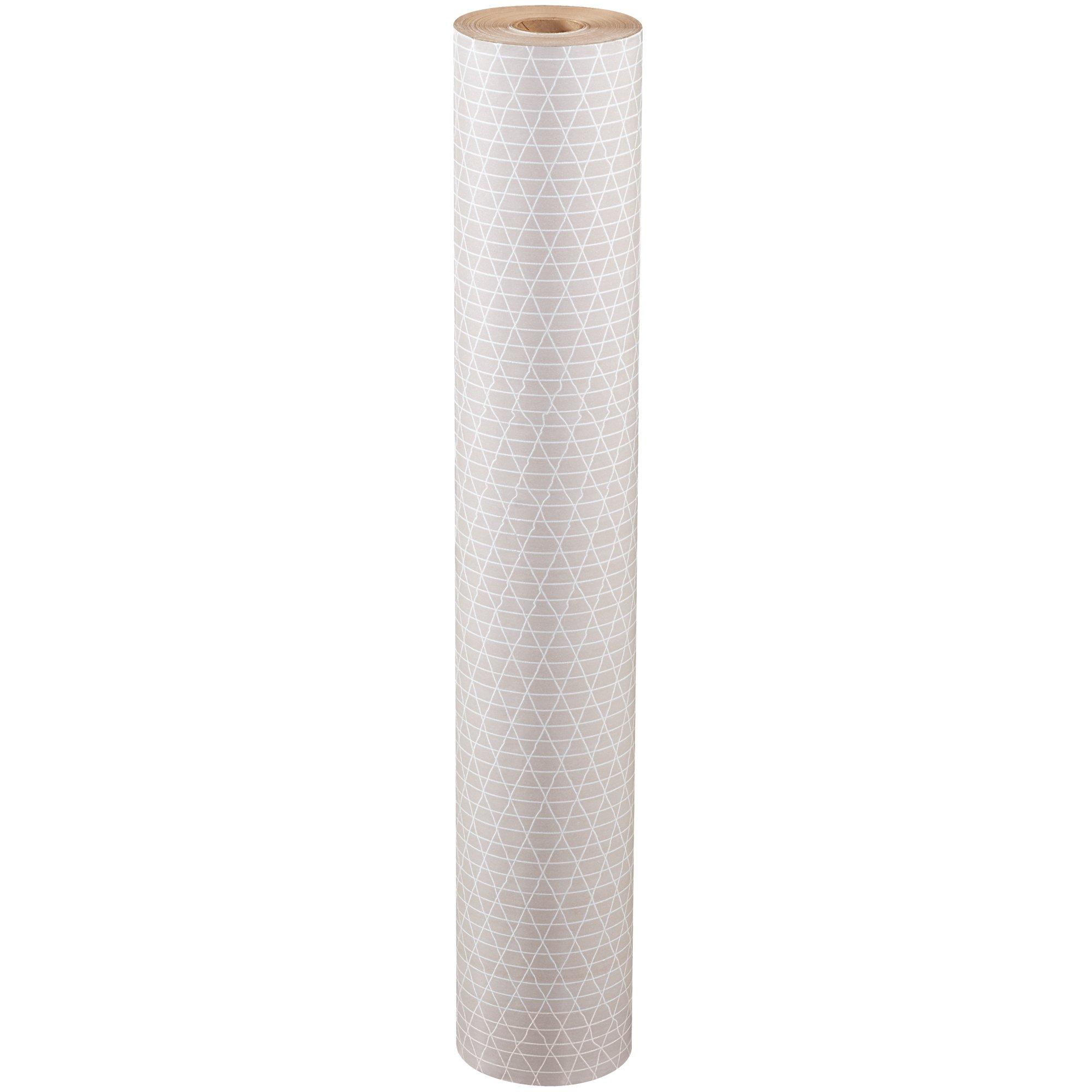 Reinforced Kraft Paper Rolls, 36'' x 300', Kraft, 1/Roll by Choice Shipping Supplies