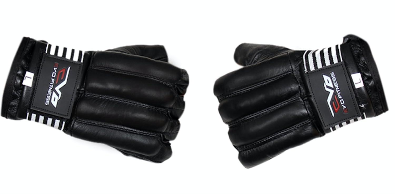EVO Cuir De Vachette GEL Corporel gants MMA Sac De Sable De Box Arts martiaux karat/é Mitaines