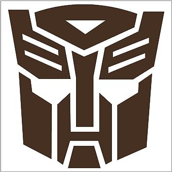 Autobot transformers robot face sticker decal 6