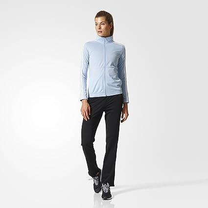 adidas Back2bas 3s Ts Chándal, Mujer, Multicolor (Azusen/Blanco ...