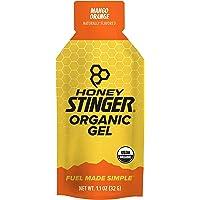 Honey Stinger Organic Energy Gel, Mango Orange, 1.1 Ounce (Pack of 24)