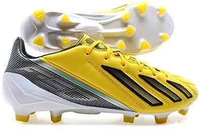 designer fashion 71207 19d23 NEW ADIDAS F50 ADIZERO TRX HG MENS FOOTBALL BOOTS SHOES SIZE 9 UK