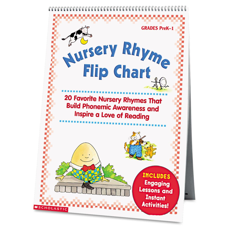 2006 scholastic entertainment inc web site copyright - Amazon Com Scholastic Nursery Rhyme Flip Chart Grades Prek 1 20 Pages Shs0439513820 Office Products
