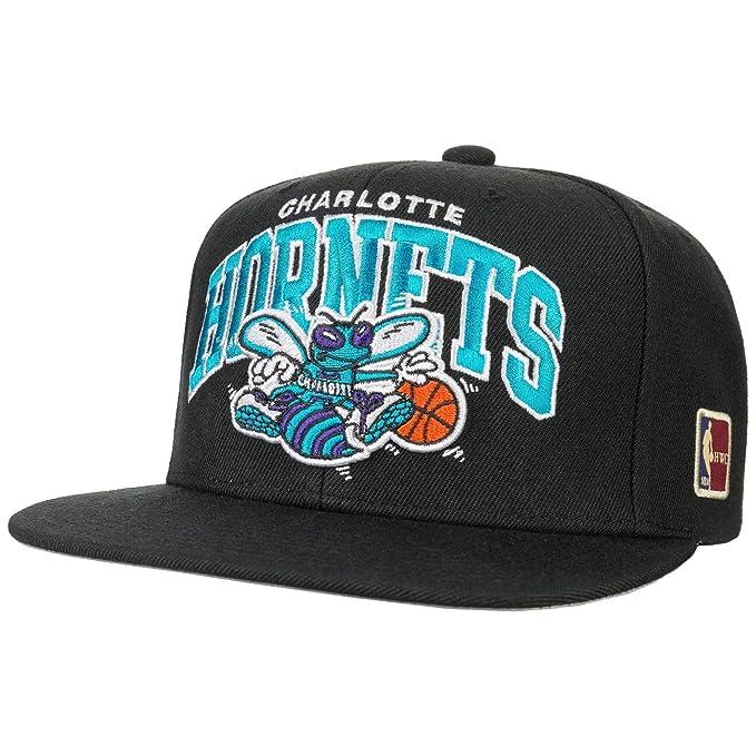 Mitchell   Ness Gorra HWC NBA Hornets by Gorragorra de Beisbol (Talla única  - Negro 8ec44244c09