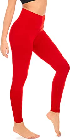 DEAR SPARKLE Thick Leggings High Waist Yoga Pants for Women Workout Slim Athletic Running Legging Plus Size (Z1)