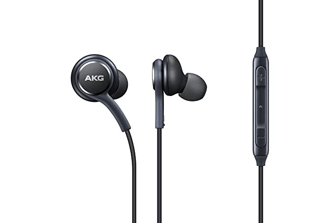 Amazon.com  Samsung Earphones Corded Tuned by AKG (Galaxy S8 and S8+ Inbox  replacement) 0cfbe29dcb
