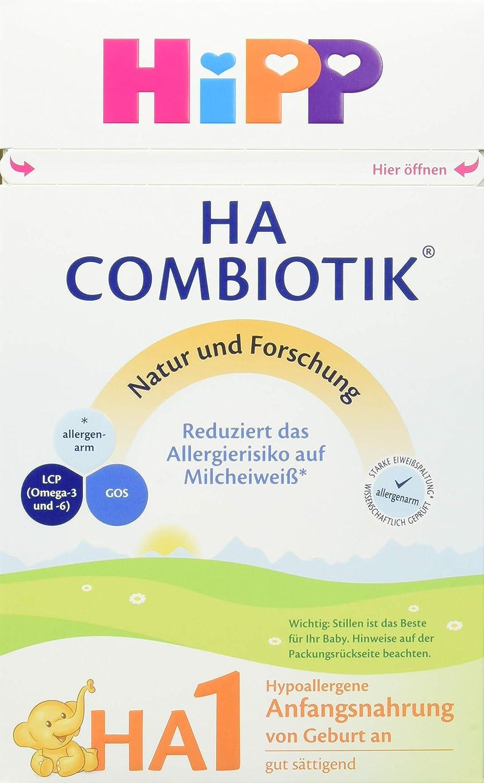 Hipp HA 1 Combiotik, 1er Pack (1 x 500 g) 2141x Anfangsnahrung Milchnahrung