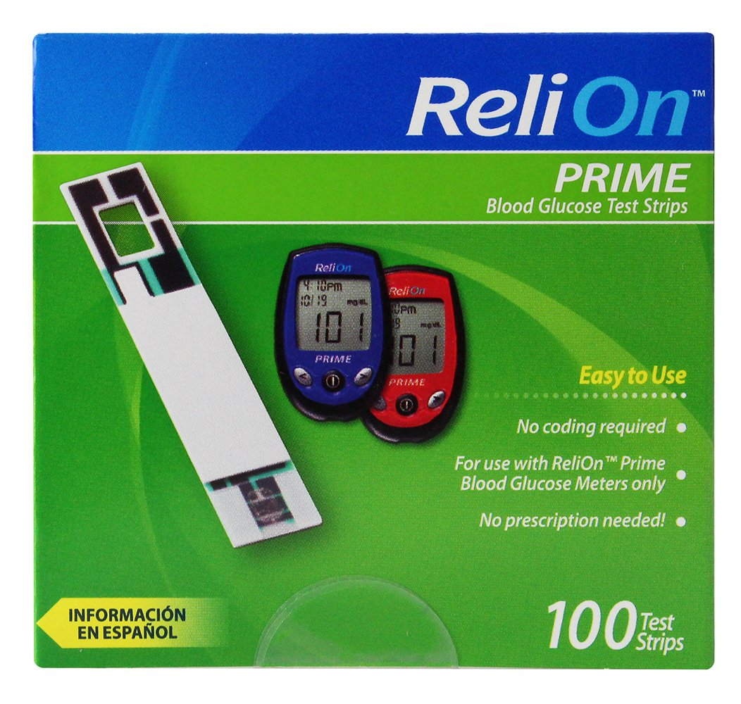 Amazon com: ReliOn - New Product (Needle & Lancets ) For Thin and