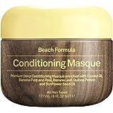 Sun Bum Beach Formula Revitalizing Deep Conditioning Hair Masque, 6 oz Tub, 1 Count, Hydrating Conditioner, Frizz Control, Paraben Free, Gluten Free, Vegan