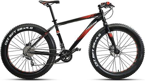 bicicleta de montaña 26 montana vektor fat acera 2 x 8 disc bicicleta...