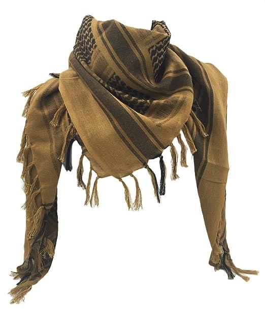 Amazon.com: WOLMIK - Bufanda de algodón 100 % militar con ...