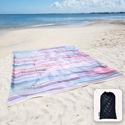 Oceans Selfie Beach Blanket