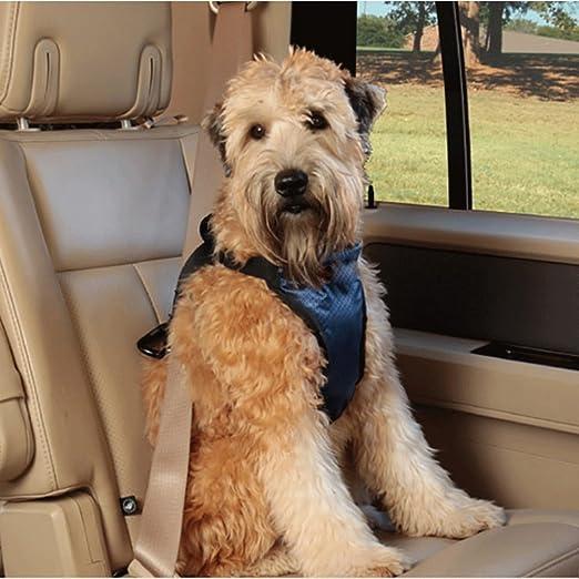 ZXC145 Ajustables perro de mascota cinturones de seguridad de ...