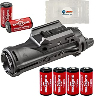 product image for SureFire XH15 WeaponLight with MasterFire RDH Interface, 350 Lumens, Polymer Body with 6 Extra CR123A Batteries and 2 Lightjunction Battery Boxes