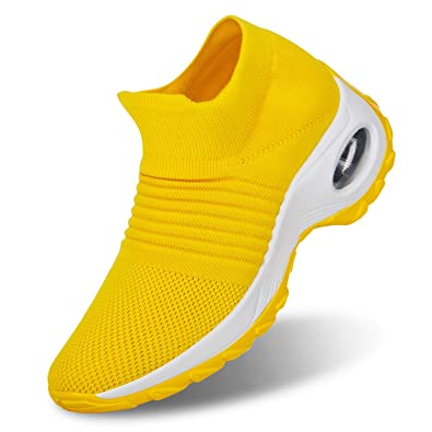 Damen Athletic Sportschuhe Slip On Turnschuhe Joggen Sneaker Eur Größe:37 ~ 41