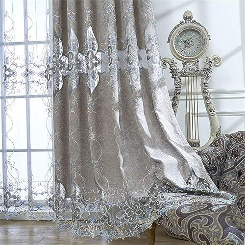 WPKIRA Grommet Semi Blackout Curtains - a good cheap window curtain panel