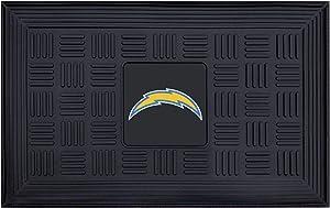 """FANMATS - 11457 NFL San Diego Chargers Vinyl Door Mat, 19""""x30"""""""
