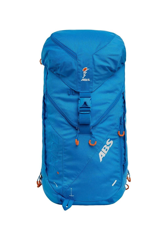 ABS Unisex– Erwachsene Lawinenrucksack Zip-On 5, Packsack für P.Ride Original und Vario Base Unit, Fach für Sicherheitsausrüstung, 45+5L Volumen, Ski-und Snowboardhalterung, Helmnetz, Ocean Blue