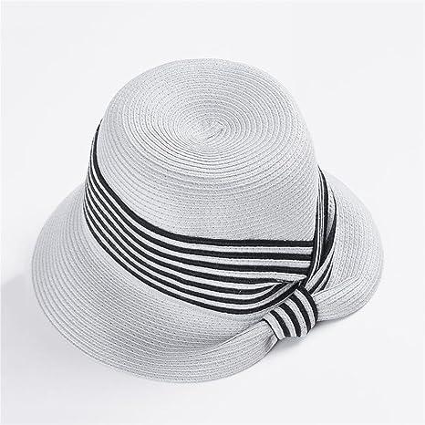 70f5bb99904b4 YXINY Viseras Sombreros Mujer Primavera Y Verano Visor Elegante Protección  Solar Sombrero para El Sol Vacaciones