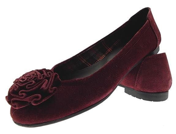 3495 Paperina Rosa Amazon es Art Zapatos Bailarina Borgoña De Ante xrqBwrYA