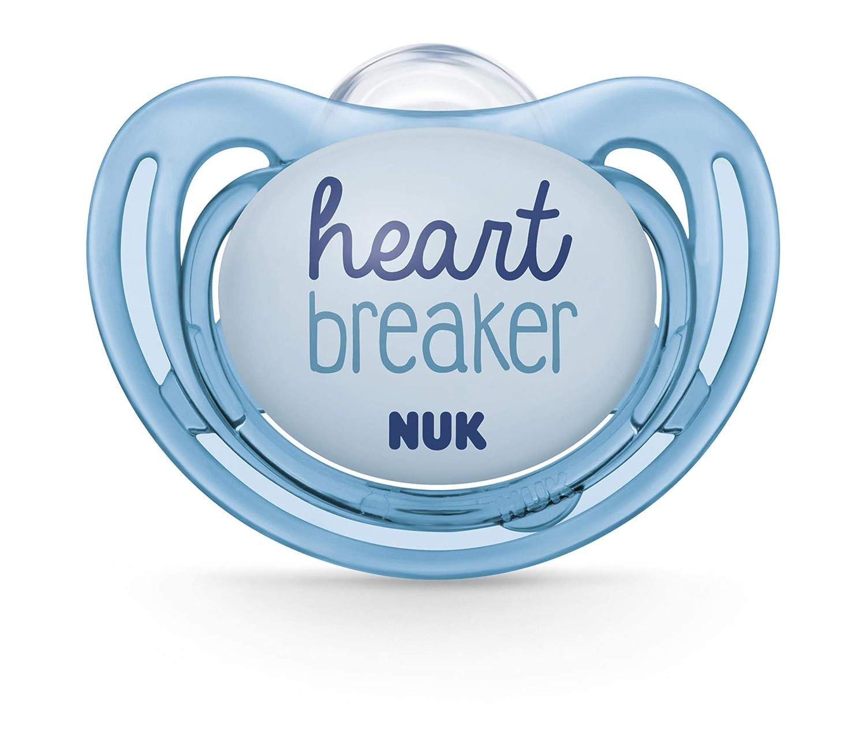 Amazon.com: NUK 2 piezas de chupete ortopédico de flujo de ...