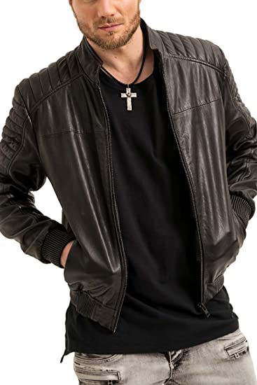 1bf6a0d21bf2 trueprodigy Casual Mens Clothes Funny and Cool Designer Jacket Leather  Jacket for Men Slim Fit Sporty Sale  Amazon.co.uk  Clothing