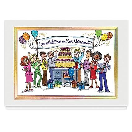 Jubilación Congrats de todos - 25 sobres tarjetas de ...