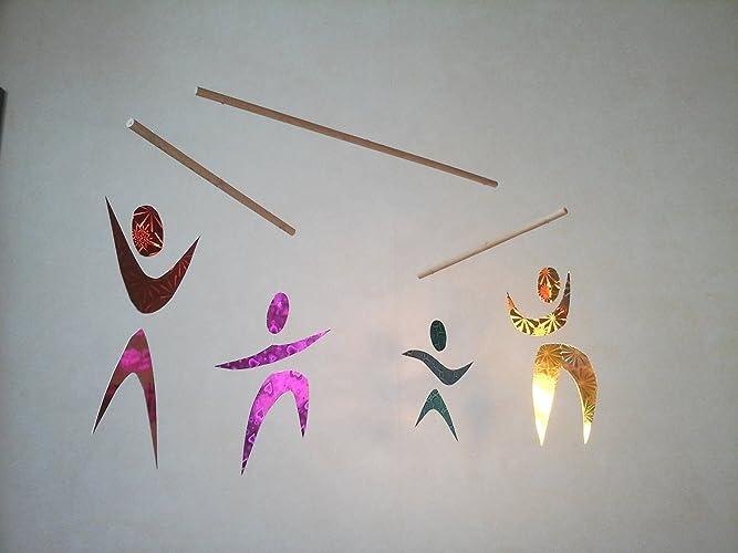 Mobile Des Danseurs Amazonfr Handmade