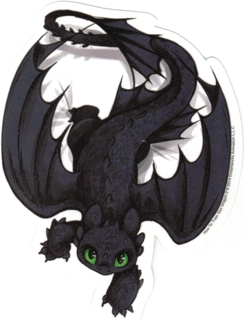 Animewild How to Train Your Dragon 2 Crawling Toothless Sticker