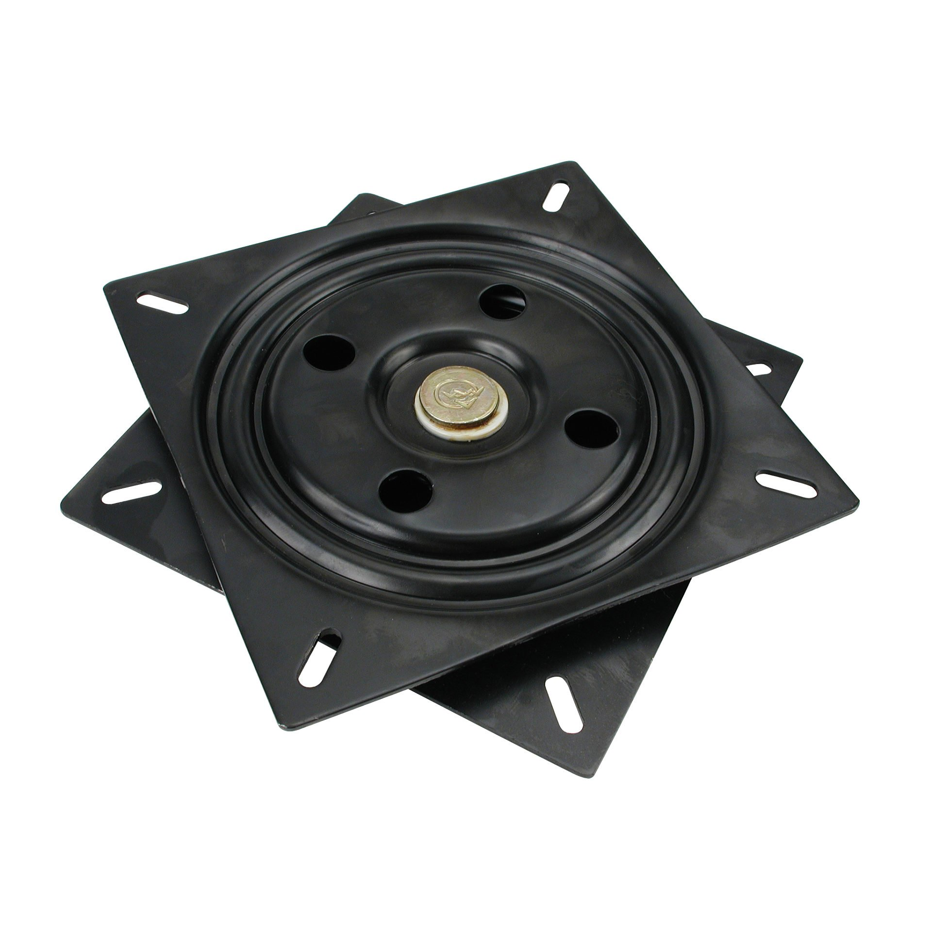 Richelieu Hardware UC2212 Swivel Plate, 7.68 in, Black