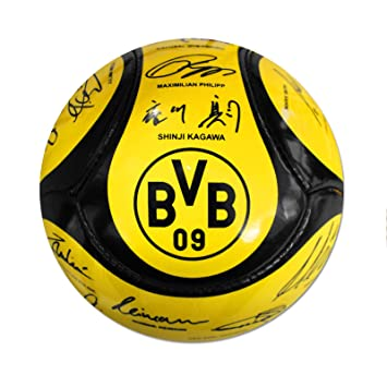 Bvb Borussia Dortmund Football Team Signatures Size5 Ball
