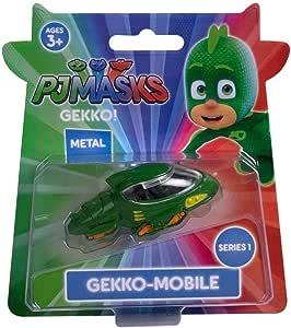 PJ Masks Gekko Die Cast Vehículo - Serie 1 Gekko-Mobile ...