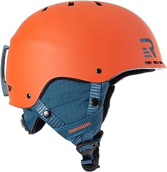 Renewed Retrospec Traverse H3 Youth Ski /& Snowboard Helmet