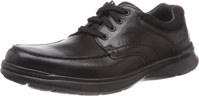TALLA 43 EU. Clarks Cotrell Edge, Zapatos de Cordones Derby para Hombre