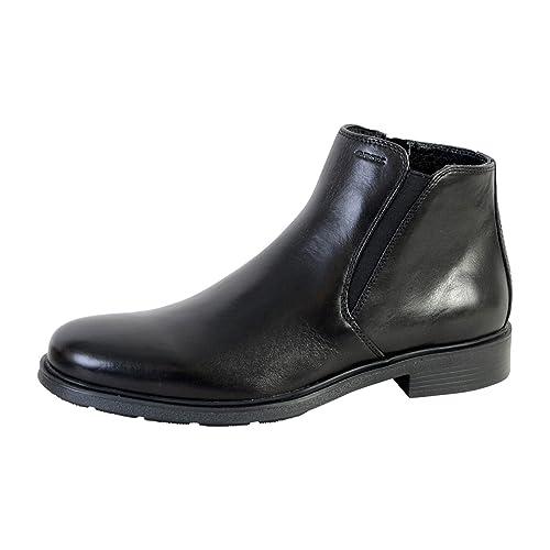 Geox U Dublin, - Botas Chelsea Hombre, Negro (Negro), 40 EU: Amazon.es: Zapatos y complementos