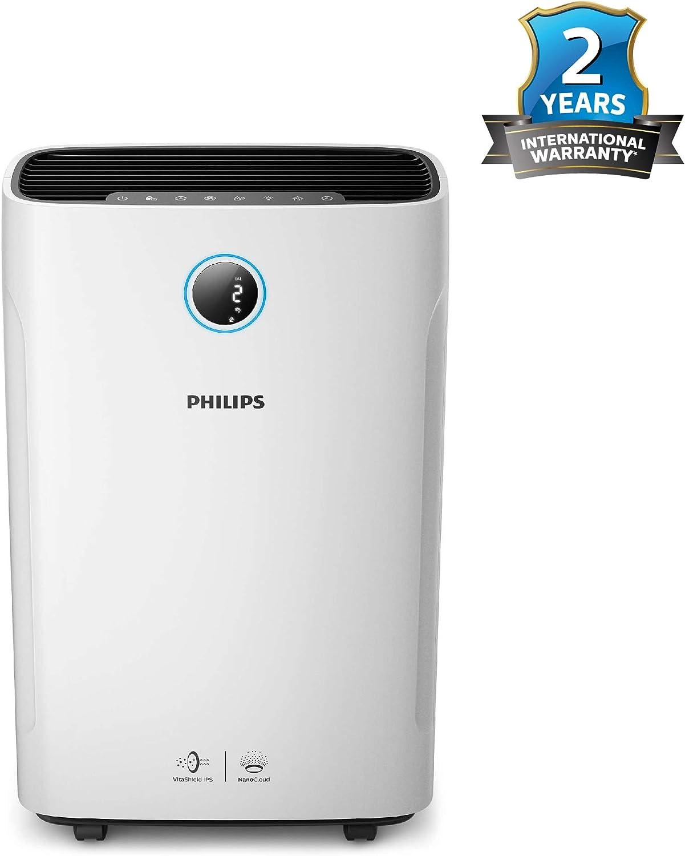 Philips AC3821/20 - Purificador de aire (310 m³/h, 80 m², 600 ml/h ...