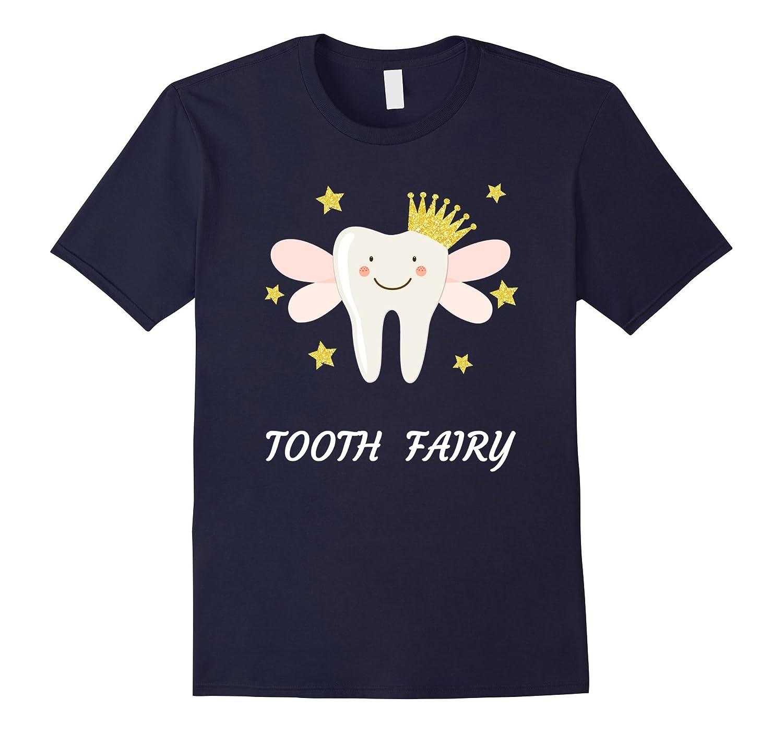 Tooth Fairy Fun Gift Shirt, Darks-FL