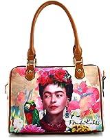 Genuine Frida Kahlo Boston Handbag
