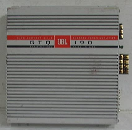 Old School JBL GTQ 190 Made in the USA