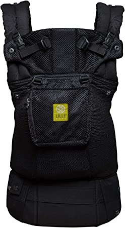 Black SIX-Position 360/° Ergonomic Baby /& Child Carrier by LILLEbaby The COMPLETE All Seasons